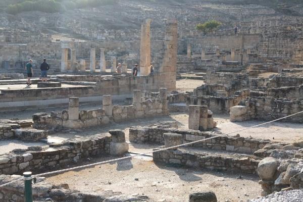 Ancient Kamiros, Rhodes - backlit by MentorRon