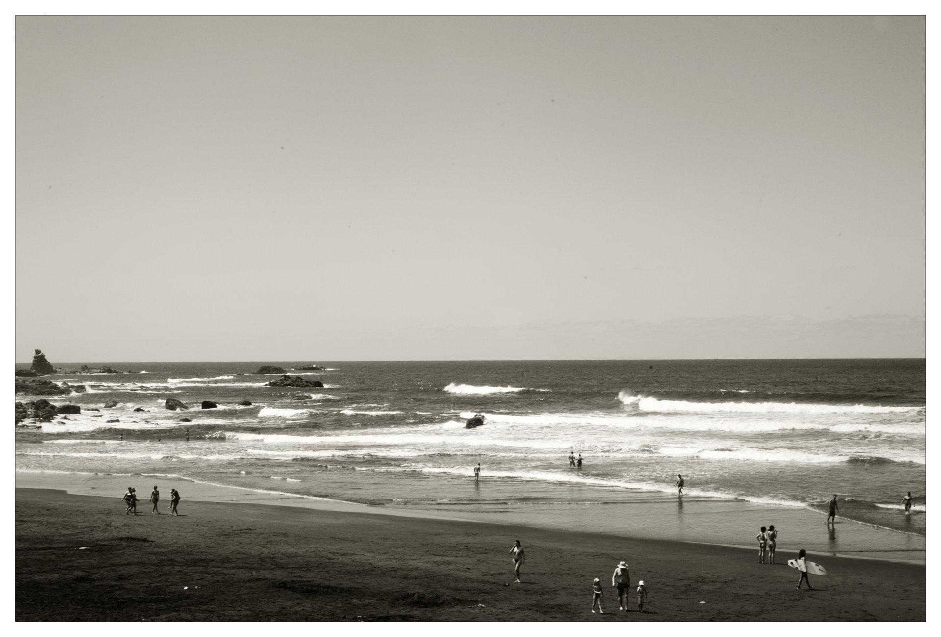 a sunday on the beach