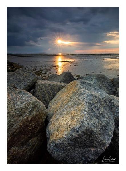 Reculver Rocks by sidcollins