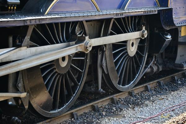 Steam Train Wheels by jb_127