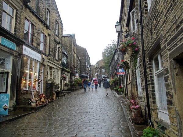 Main Street, Haworth by Hurstbourne