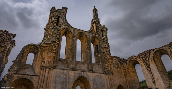 Byland Abbey by yorkie1964
