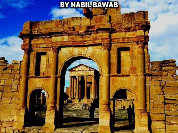 Old ruins.Tunisia by bulbulov