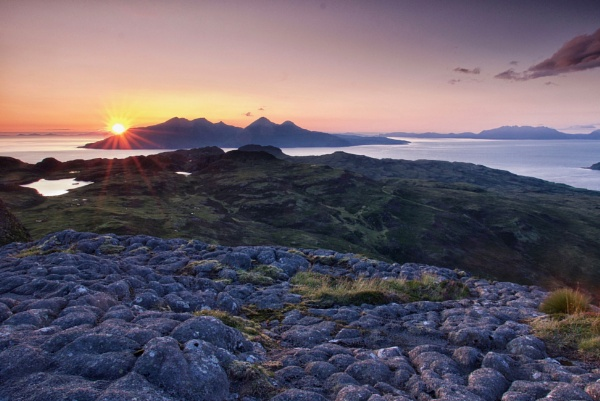 A Hebridean Meandering L - The Two Cuillin Ranges by hrsimages