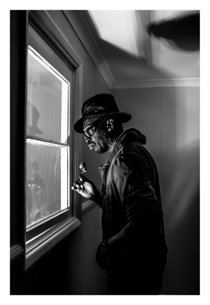A man and a strawberry by JeffHubbardPhotography