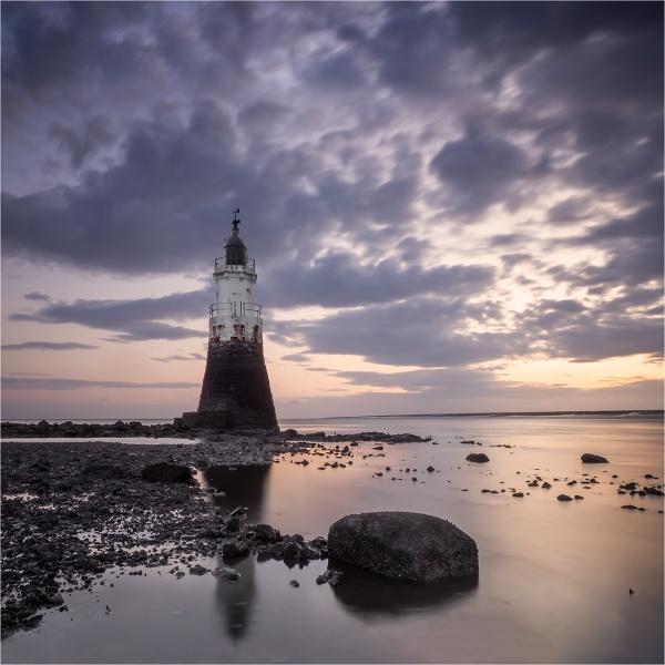 Plover Scar Lighthouse by Leedslass1