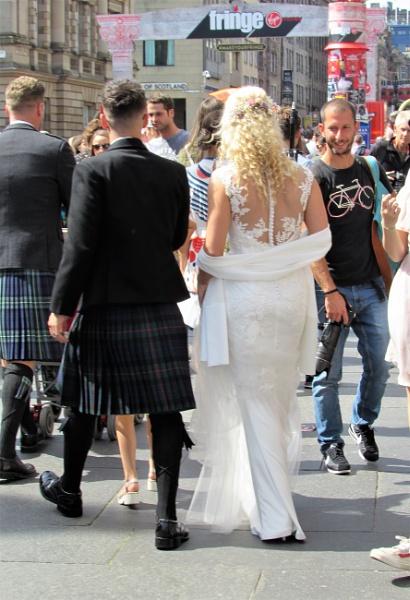 Wedding on the Fringe by davyskid