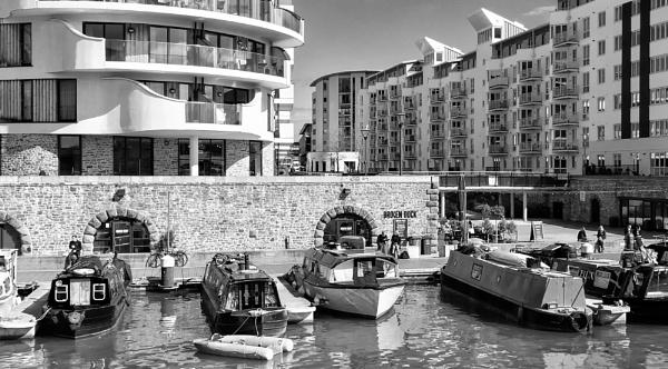 Invicta Millennium Promenade, Bristol Docks by starckimages
