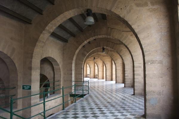 Plaza de Toros collonade, Palma. by MentorRon