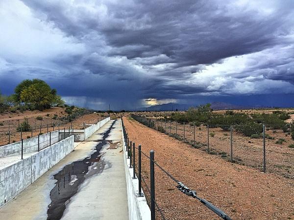 Desert Storm Coming by BKester