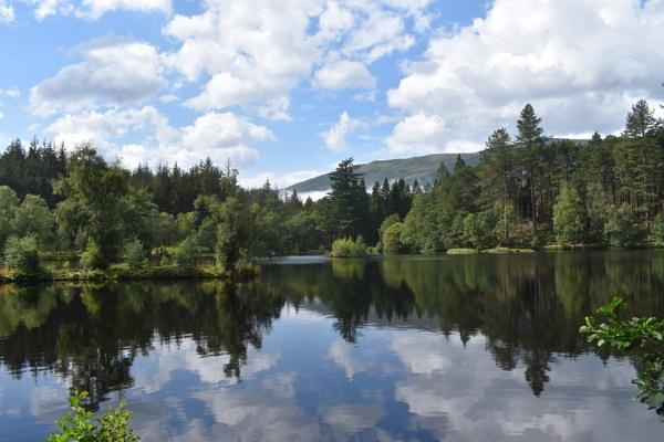 Reflections of Glencoe Lochan by ChrisB73