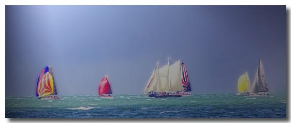 Yacht Race by Peco