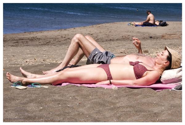 Snapshot of  sunbather (Part III) by bliba
