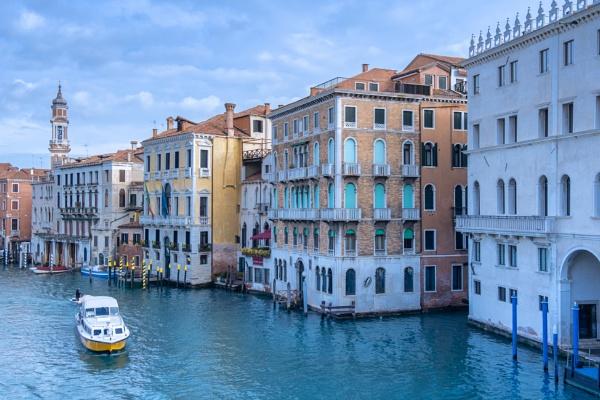 Venetian waterway by SueLeonard