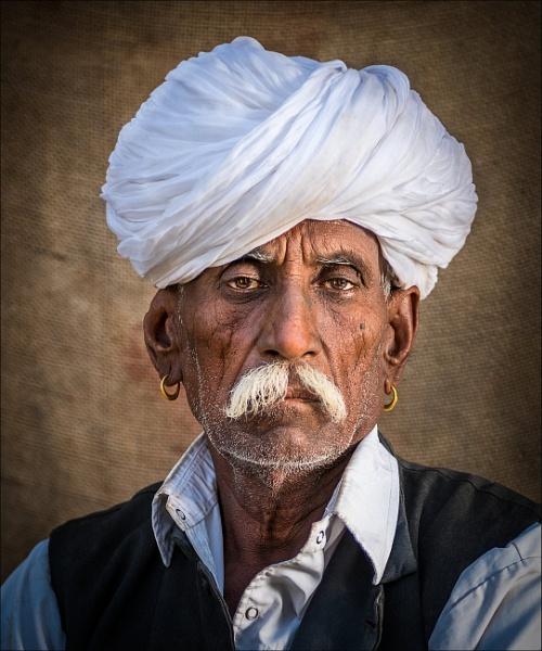 Bishnoi tribesman by PhilScot