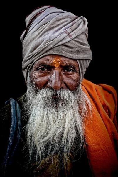 Pilgrim in Haridwar 2 by sawsengee