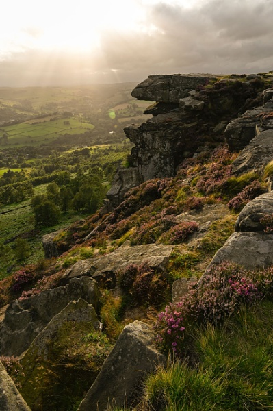 Curbar Edge Derbyshire by RoyChilds