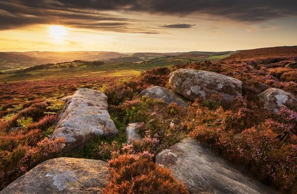 Moorland Sunset by Trevhas