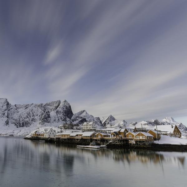 Arctic light...