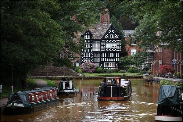 Bridgewater Canal at Worsley by johnriley1uk