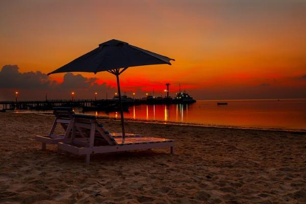 Sun Set by ragsa220