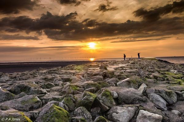 New Brighton Sunset by PhilAJ
