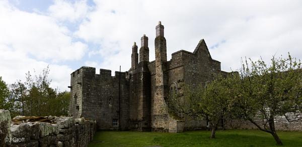 Aydon Castle by JMCroft