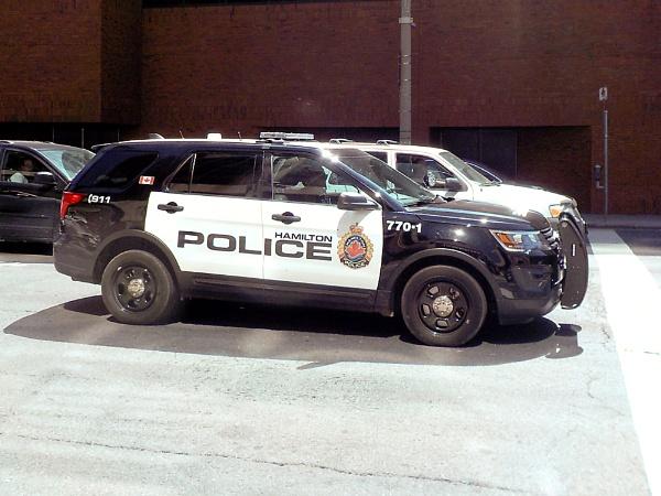 HAMILTON POLICE SUV on KING STREET WEST by TimothyDMorton