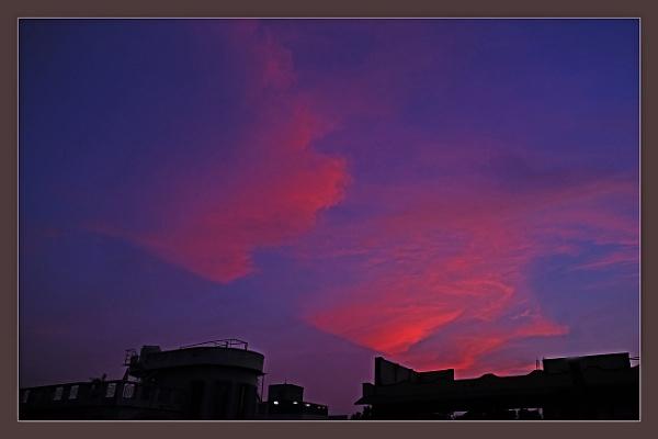 Evening Glow by prabhusinha