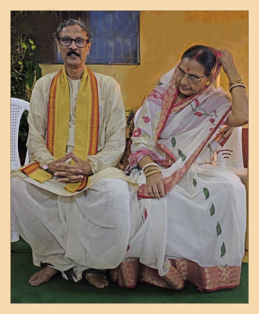 Happy  Hindu Family