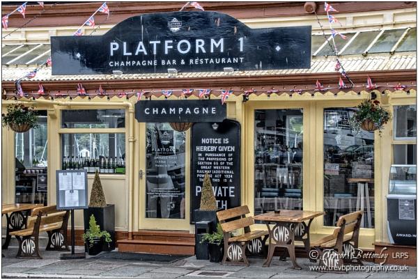 \'Platform 1 Champagne Bar & Restaurant\' by TrevBatWCC