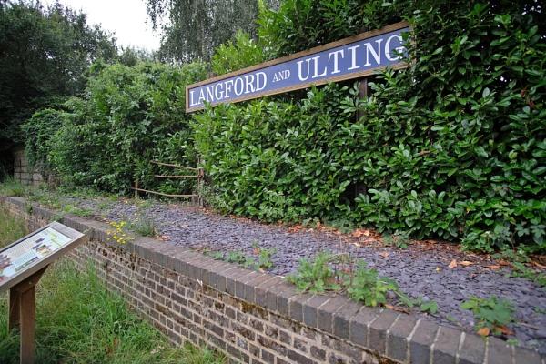 Langford rail station Essex by bluetitblue