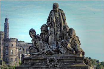 Boer War Memorial - Edinburgh