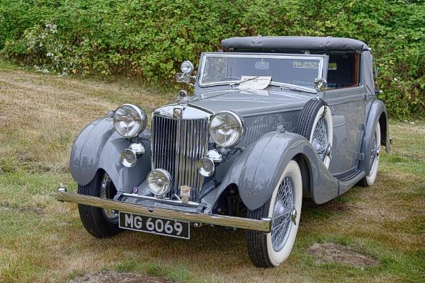 1938 MG VA Tickford by RSK