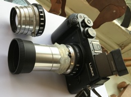 PROJECTOR LENS ADAPTATION FOR MICRO FOUR THIRDS CAMERA