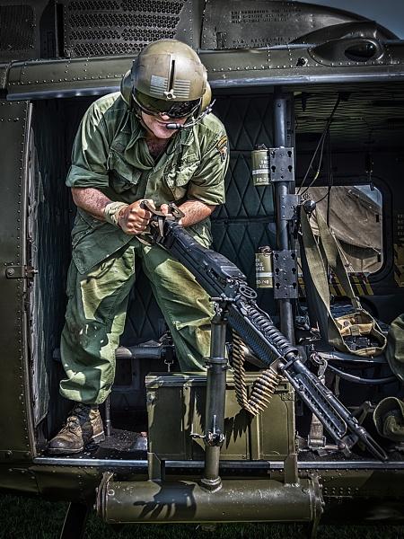 Huey Gunner by BydoR9