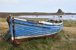 Old boat, Lindisfarne
