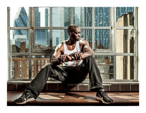 In a London window by JeffHubbardPhotography