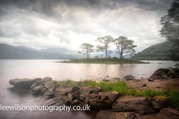 Loch Maree morning mist