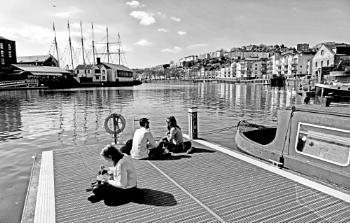 Lunch Alone/Lunch Together - Bristol Docks