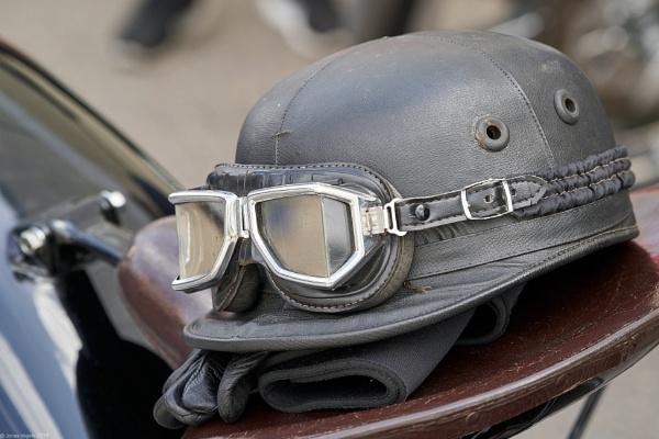 Vintage helmet by LotaLota
