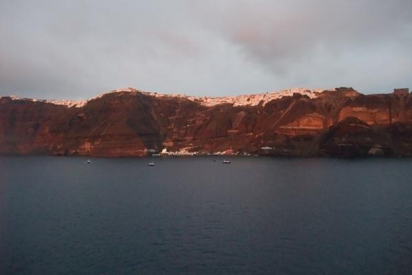 Fira by sunset, Santorini. by MentorRon