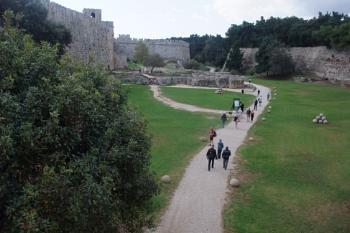 Rhodes-Between the walls