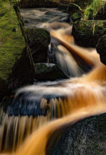 Burbage Brook Waterfalls by lagomorphhunter