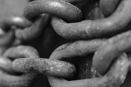 Photo : Chain in B&W