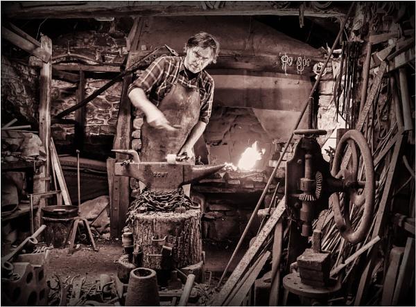 The blacksmith by franken