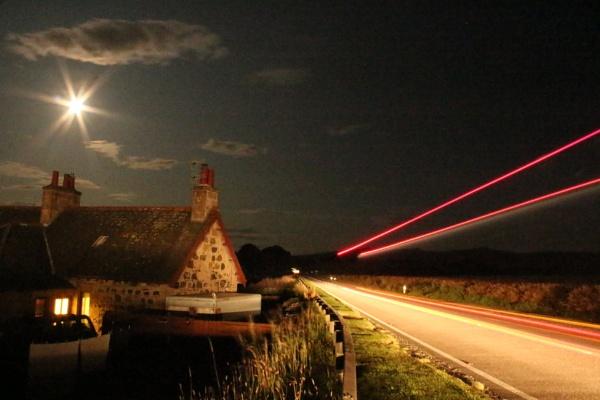 Moonlight & Trucklights by sideshowbob77