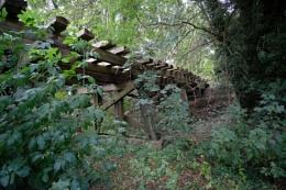 Railway Wooden bridge