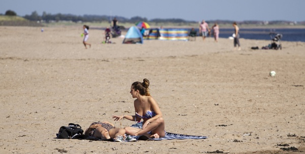 Spanish Sunbather by DundeePhotographics