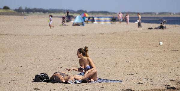 Spanish Sunbather by DundeePhotographics